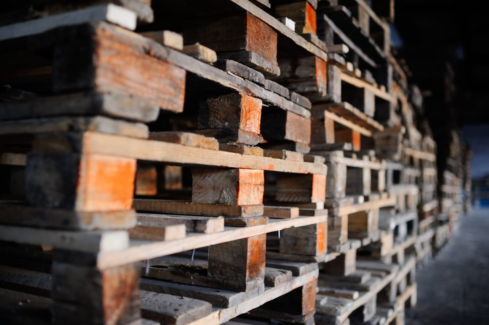 wooden pallets in Miami